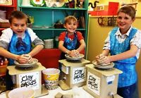 Scouts & Guides clay or fused glass workshops at Clay for Kids