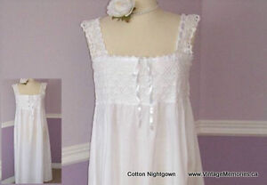 Brand new loose fitting and cosy 100% cotton night gown On Sale Cambridge Kitchener Area image 7