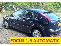 Ford Focus 1.5 Automatic*1 Year MOT*Low Millage * NO Fiesta Vauxhall Toyota