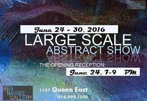 2016 Large Abstracts Exhibsit (Leslieville)