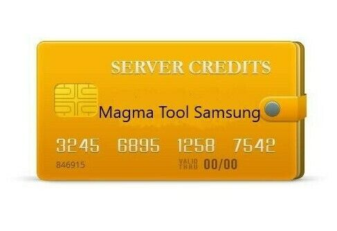 Magma Tool Samsung 15 Credits - Instant Service - $19.99