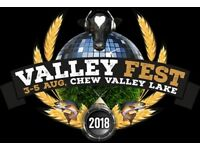 3x Adult Valley Fest Saturday Day Tickets For Sale