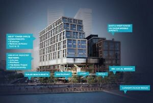 DOWNTOWN WATERFRONT OFFICE CONDOS FOR SALE