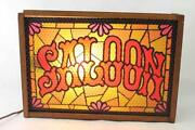 Stained Glass Sign