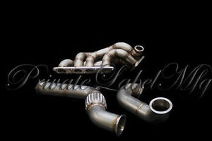 PLM  T3 Twin scroll turbo maniold (F-Series/S2000) WITH F-series