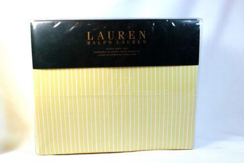 Ralph Lauren Stripe Queen Sheet Set Ebay