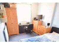 Wardrobe, chest of drawers and two side tables