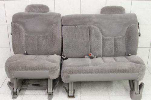 suburban 2nd row seats ebay. Black Bedroom Furniture Sets. Home Design Ideas