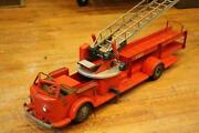 Pressed Steel Fire Truck