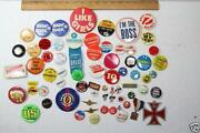 Vintage Button Pins