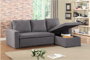 SECTIONAL SOFA BED WITH STORAGE...$699 ONLY