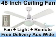 Ceiling Fan with Light Remote