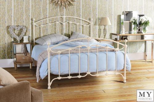 Laura Ashley Single Wrought Iron Bed