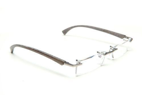Gold And Wood Eyeglasses Ebay