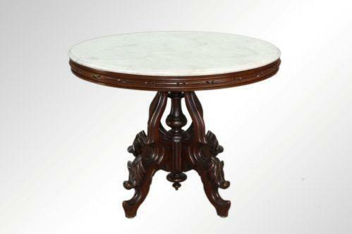 Oval Marble Top Table Ebay