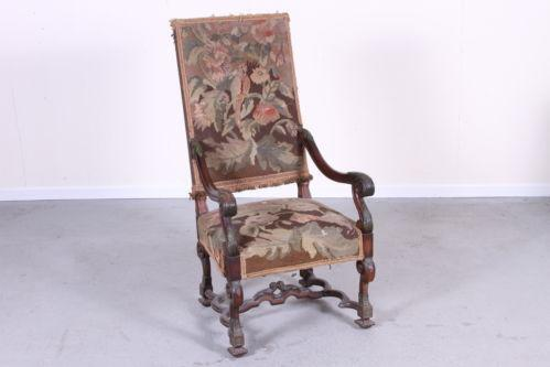 Antique Tapestry Chair Ebay