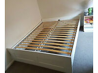 Excellent condition Ikea brimnes double bed frame
