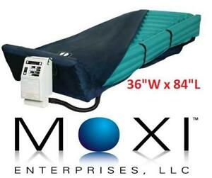 NEW MOXI SELECTAIR MATTRESS SYSTEM - 131162895 - MEDICAL HOME PATIEN CARE EQUIPMENT 36INCH WIDE BY 84INCH LENGTH