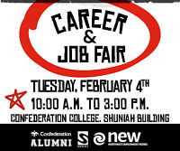 Career & Job Fair - Confederation College - February 4, 2020