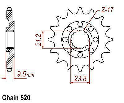 12 Tooth Sprocket Parts Accessories