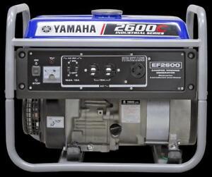 BRAND NEW 2600 Watt Yamaha Generator