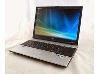 Toshiba CORE 2 duo laptop 2.2ghz 250 gb win 7 free delivery