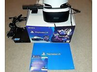 Playstation 4 virtual reality bundle