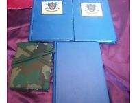 /40Page Nyrex Waterproof Document Folder Military Army Orders x 3 plus notebook