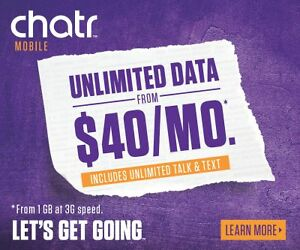 Chatr Mobile @ Parkway Mall - 2 Days GRAND OPENING SPECIAL !!!