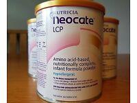 Neocate x4 tins