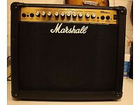 Marshal dfx30 twin channel multi effects guitar amp with foot switch