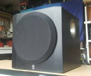"YAMAHA 10"" ACTIVE POWERED SUBWOOFER/MUSIC/ SURROUND SOUND Dandenong North Greater Dandenong Preview"