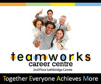 Career Development Workshops - no cost to you - Teamworks