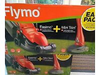 Flymo Corded Easimo lawn mower and trimmer set