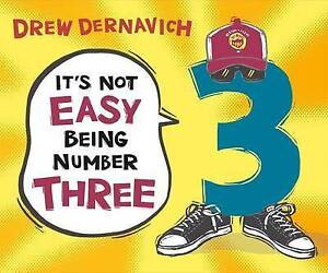 It's Not Easy Being Number Three By Dernavich, Drew -Hcover