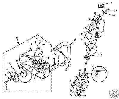 Homelite 150 Automatic Parts Diagram, Homelite, Free