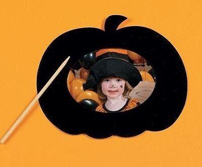 1 Pumpkin Scratch Art Magnet Frame Kit Halloween Fall - Halloween Magnet Craft
