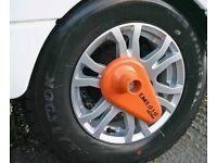 Purpleline Nemesis Caravan Wheel Lock