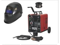 SEALEY MIGHTYMIG150 GAS/NO-GAS MIG WELDER 150A + AUTO DARKENING HELMET