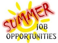 Summer jobs now available Southampton
