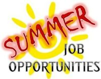 Summer Work Opporunities- NO EXPERIENCE NECESSARY!