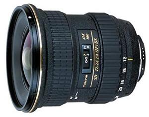Tokina AT-X Pro SD 12-24mm F4 (IF) DX For Canon Cameras Lens