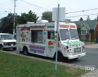 An ice cream truck at a wedding? Brilliant! That is,