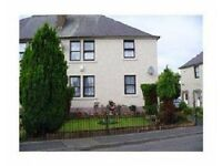2 BEDROOMED UNFURNISHED GROUND FLOOR FLAT IN GOREBRIDGE