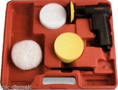 Kit mini pulidora especialmende adecuada pulir faros lunas coche