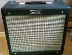 Fender Blues Junior I - Bill M mods, upgraded speaker