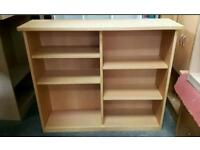 Bird's Eye Maple Solid Double Storage Effect Bookcase ! 5 Available !