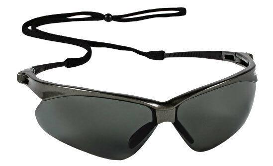Jackson Nemesis V30 Safety Glasses/Sunglasses Various Colors & Quantities  28635 - Gunmetal Frame/Polarized Smoke Lens