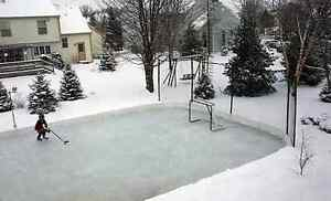 Hockey rink liner Plastic $0.07 sq/ft Best Price! Kitchener / Waterloo Kitchener Area image 1