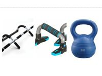 Weight training package x3